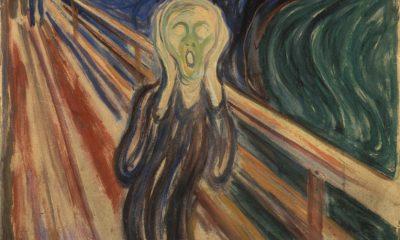 Děsivá vyprávění otce způsobovala Munchovi, autorovi obrazu Výkřik, noční můry.