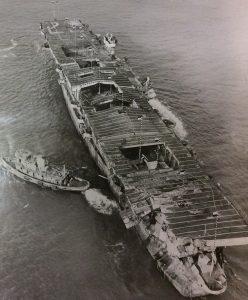 Dekontaminovat se později podaří jen část lodí, použitých při testech.