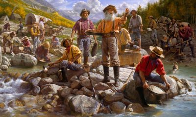 Do kalifornských hor dorazí tisíce dobrodruhů, kteří chtějí zbohatnout.
