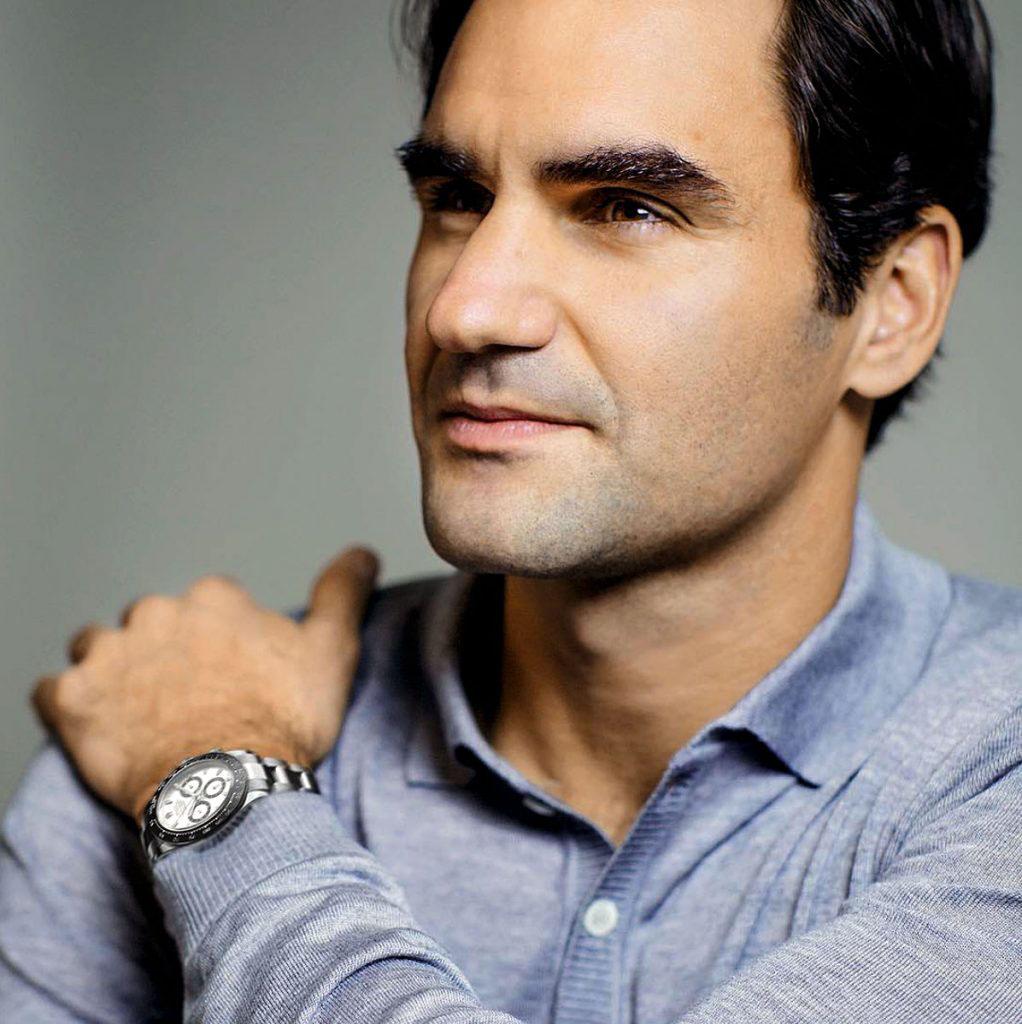 Do rodiny ambsadorů značky Rolex patří i tenista Roger Federer.