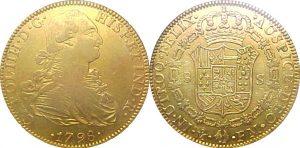 Zlaté mince, které leží na dně. Stejné vezla sesterská loď San Josého.