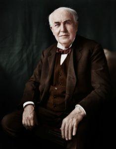 Edison má na kontě přes 2000 vynálezů.