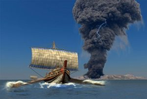 Přispěla ke zkáze minojské civilizace přírodní katastrofa?