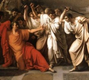 Předpověděl Ceasarovo zavraždění senátory etruský věštec?