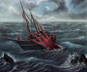 Mohl být kraken ve skutečnosti první ponorkou?