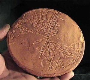 Nález jílové tabulky údajně potvrzuje, že v oblasti kdysi dávno spadl meteorit.