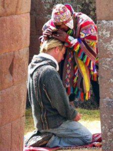 Léčící šaman.