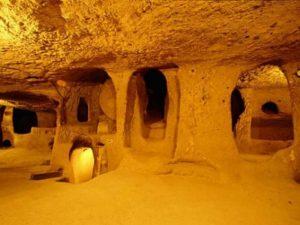V turecké Kapadokii se nachází 150 podzemních měst.