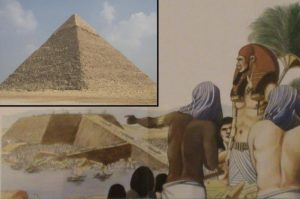 Faraonovi Chufevovi je připisována jedna z nejúžasnějších staveb v lidských dějinách: Velká pyramida v Gíze.