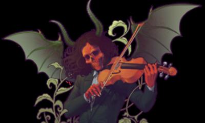 Pověsti o smlouvě se Satanem přiživuje i hudebníkův vpravdě ďábelský vzhled.