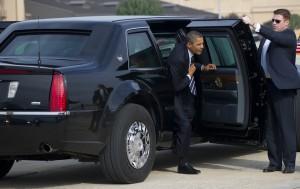 Ochrání Obamu jeho opancéřovaná limuzína?