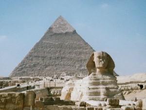 Sfinga patří k nejzáhadnějším egyptským stavbám.