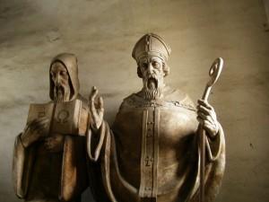Svatý Metoděj byl byzantský učenec a moravský patron.