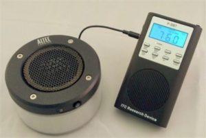 Takto vypadá Spirit box, přístroj, který údajně umožňuje komunikaci s duchy.