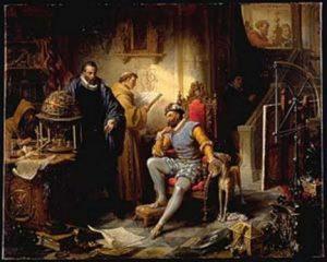 Opravdu řekl dánský astronom císaři Rudolfovi II., že jeho život je spjat s jeho lvem, nebo jde jen o legendu?