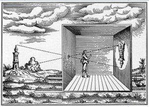 Anglický mnich sestrojil předchůdce dnešního fotoaparátu - cameru obscuru.