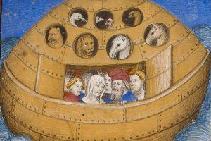 Noemova archa byla údajně kulatá. Skutečně se do ní vešli zástupci všech zvířecích druhů?