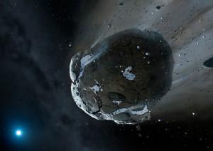 Komety jsou tvořeny prachem a ledem. Podle vědců však vodu na Zemi nepřinesly.