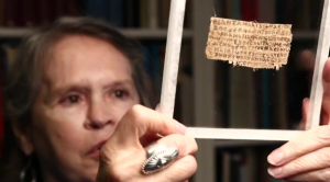 Historička Karen King věří, že Magdalena byla Ježíšova žena. Dokládá to prý nalezený kus pergamenu.