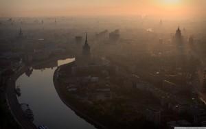 Toxická mlha byla tak hustá, že skrz ní téměř ani nebylo vidět slunce.