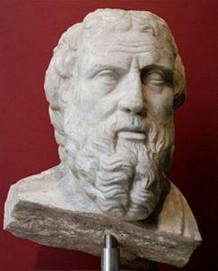 Řecký historik Hérodos tvrdil, že faraon Chufev se v pyramidě pohřbít nenechal.