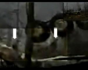 Na záběrech z místa nehody se prý pohybovaly neznámé postavy.