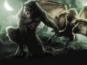 Jiná teorie tvrdí, že vlkodlaci jsou démoni, kteří se objevují za úplňku a žízní po lidské či zvířecí krvi.