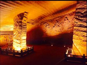 Dodnes nevíme, k čemu mohly obrovské podzemní prostory sloužit.