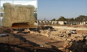 Na velkém archeologickém nalezišti v Magdale byl nalezen i kamenný oltář s židovskými symboly. Kázal u něj Kristus?