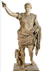 Bájný zakladatel Říma Romulus měl podle jedné verze legendy po svém činu zmizet do nebe za velkého hromu a oslepujícího světla.