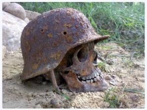 V horách Adygejské republiky bylo nalezeno o několik lebek nacistických vojáků. Prý zde pátrali po jakémsi mystickém místě.