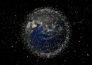 Má událost něco společného s vesmírným smetím?