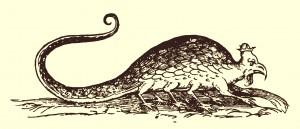 Král hadů, jehož syčení je slyšet na míle daleko. Takový je prý bazilišek.