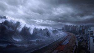 Obrovskou vlnu tsunami nemusí způsobit jen zemětřesení, ale také masivní sesuv půdy a skal. Jedna taková zpustošila kdysi Afriku.