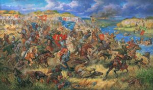 V dubnu 1241 nejdříve mongolská jízda rozdrtila přesilu slezského rytířstva, o dva dny později pak zdrcujícím způsobem porazila vojska uherského krále Bély IV.