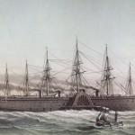 Půl století před Titanikem začala stavba největší a nejluxusnější lodi historie parníku Great Eastern. Plavidla dvojnásobně delšího než největší lodi té doby.