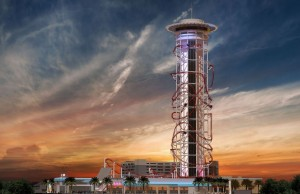 V americkém Orlandu má v rámci zábavního parku Skyplex vzniknout naprosto unikátní horská dráha.