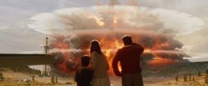 Výbuch vulkánu v americkém Yellowstone inspiroval také filmaře katastrofického snímku o konci světa.