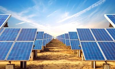 Energie získaná pomocí solárních panelů