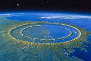 Chicxulubský kráter, Mexiko