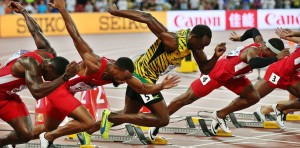Vědci se domnívají, že aktuální sprinterský rekord na sto metrů půjde vylepšit už jen zhruba o tři desetiny sekundy.