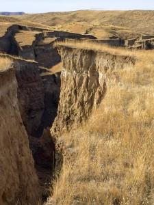 Vědce znepokojuje puklina, která se v národním parku Yellowstone objevila loni v říjnu. Je 700 metrů dlouhá a přes čtyřicet metrů široká.