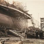 Ohromná lopatková kolesa s průměrem 17 metrů byla jedním ze tří použitých principů pohonu. Loď poháněly i lodní šrouby a plachty.