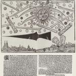 O podobné bitvě se zmiňují i německé kroniky z 16. století, konkrétně se na obloze měla odehrát v roce 1561nad Norimberkem.