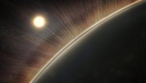 Velice hustá atmosféra Venuše se skládá především z oxidu uhličitého. To vyvolává silný skleníkový efekt, který přináší extrémně vysoké teploty na planetě.