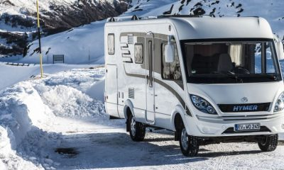 Hymer ML-I auf Basis Mercedes-Benz Sprinter 4x4 – Exterieur ;  Hymer ML-I on Mercedes-Benz Sprinter 4x4 base – Exterior;
