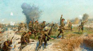 Hned při prvním útoku ztratí Britové přes 50 000 mužů.