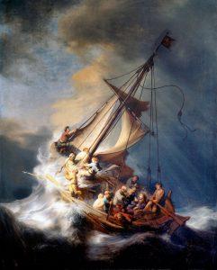 Hodnota obrazu Bouře na moři Galilejském přesahuje jednu miliardu korun.