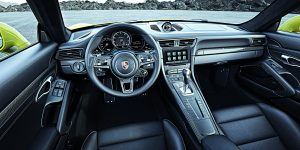 Interiér Porsche 911 Turbo S