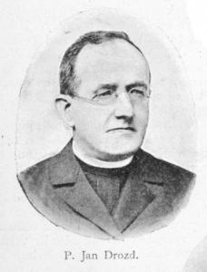 Monsignore Jan Drozd se podílá na podvodu ve výši 7 milionů (dnes 700 milionů).